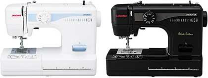 ジャノメ JN508DXとJN508DX-2B